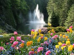 the butchard gardens victoria island bc the most beautiful