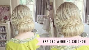 chignon maker braided wedding chignon by sweethearts hair