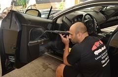 Interior Steam Clean Car Royal Car Care Miami