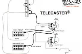 tele wiring diagram tele mirrors tele body tele bass wiring