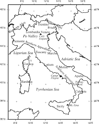 Bilinear Map Lateral Variations Of Seismic Intensity Attenuation In Italy