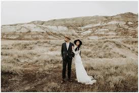 Bad Lands Alberta Bar And Badlands Wedding U2013 India Earl Photography