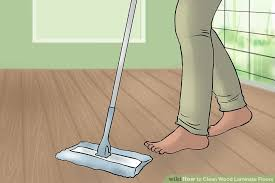 3 ways to clean wood laminate floors wikihow