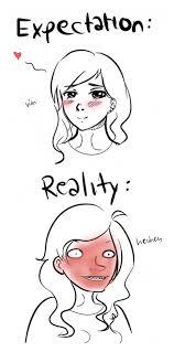 Blush Meme - whenever i blush the meta picture