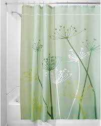 84 Inch Fabric Shower Curtain Winter Deals On Interdesign Thistle Fabric Shower