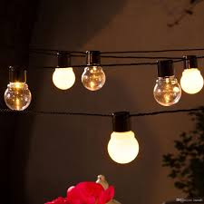 Novelty Patio Lights Novelty 5m 20 Led G45 Globe Connectable In Festoon