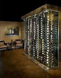 wine glass display case foter