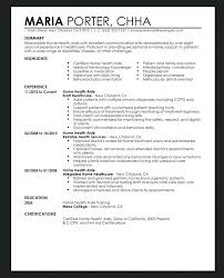 sample health care aide resume very attractive design resume for