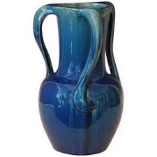 Hull Pottery Vase Art Nouveau Ceramic