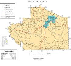 Radford University Map Macon County Alabama History Adah