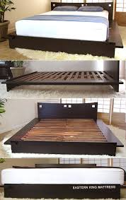 Low Platform Bed Frame Diy by Best 20 Low Platform Bed Frame Ideas On Pinterest Low Platform