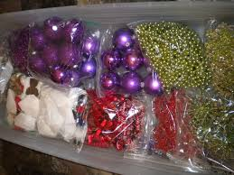 how to store decorations