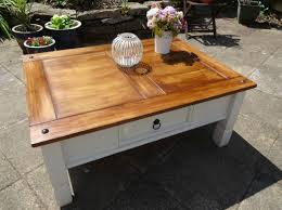 excellent mexican pine coffee table with additional minimalist