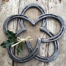 horseshoe wreath horseshoe wreath hammeredforge