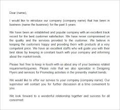 best ideas of introduction of company letter also cover letter