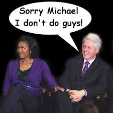Obama Bill Clinton Meme - michelle obama hits on bill clinton