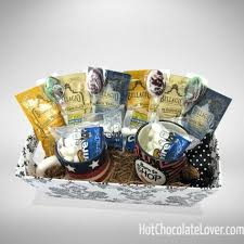 hot chocolate gift basket hot chocolate lover build your own large hot chocolate gift baskets