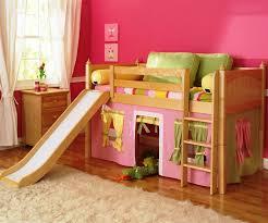 Childrens Bunk Bed With Slide Childrens Loft Bed With Slide Children S Loft Beds As Best