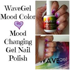wavegel mood color changing gel nail polish purdy purple youtube