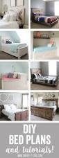 Platform Bed Plans Free Queen by Diy Bed Frame Plans Handmade Pinterest Bed Frame Plans Bed