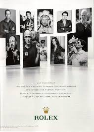 rolex print ads a quick look at the new rolex ad campaign highlighting innovators