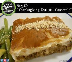 vegan thanksgiving dinner casserole made with tofutti better than