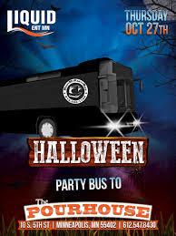halloween party bus to liquid thursdays liquid entertainment