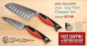 fans of guy fieri guy fieri u0027s knives on sale thru july