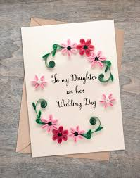 to my daughter on her wedding day wedding gift mother