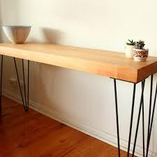 Hallway Table Australian Made Hairpin Legs For Hall Tables Steel Hall Table