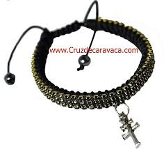 crystal cross bracelet images Bracelet with cross of caravaca strass crystal adjustable jpg