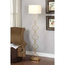 gold leaf moroccan floor lamp free shipping today overstock