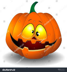 funny halloween pumpkin cartoon stock vector 148535477 shutterstock