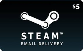 5 dollar gift cards buy 5 steam wallet gift cards redeem and