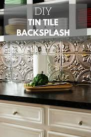 kitchen backsplash tin how to install a tin tile backsplash tin tile backsplash space