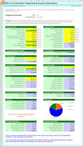 Investment Property Spreadsheet Ppor To Ip Investment Property Calculator