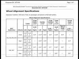 c7 corvette specs alignment specs for base c7 corvetteforum chevrolet corvette