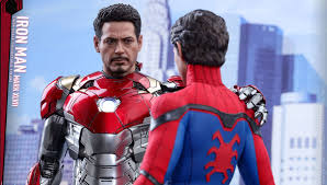 new iron man suit from spider man homecoming up close from