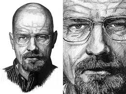 walter white illustration by sean dribbble