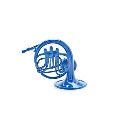 blue horn ornament with stand inspired by how i met your