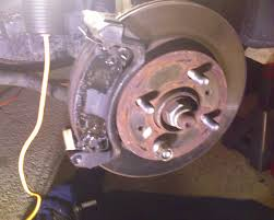 caliper brake job how to extensive and w pictures saturnfans