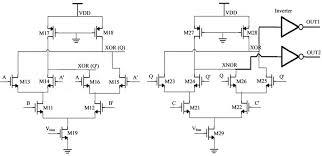 a xor b wiring diagram components