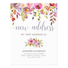 new address postcards new address post cards
