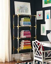 Brass Bookcase Jonathan Adler Jacques Lucite U0026 Brass Etagere
