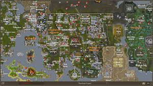 Runescape 2007 World Map world map white runescape wiki 1366x768 517329 world map white