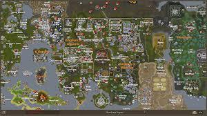 Oldschool Runescape World Map by World Map White Runescape Wiki 1366x768 517329 World Map White