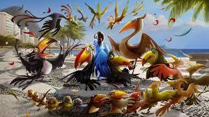 funny birds wallpaper wide screen wallpaper 1080p 2k 4k