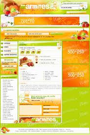 site recettes cuisine template exclusif site de recettes de cuisine marmites
