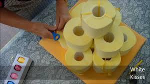 hochzeitstorte aus toilettenpapier diy hochzeitstorte mal anders