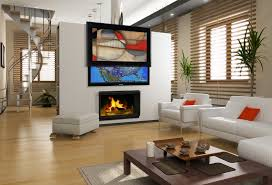 dazzling living room decorated with white wall paint color and